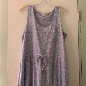 Olive & Oak Blue Heather T-shirt Dress